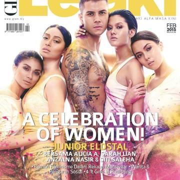 Glam Lelaki Cover (Feb 2015)
