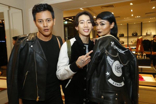 L-R Nazim Othman, Jay Park & Tasha Shilla