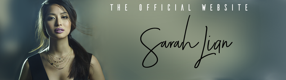 The Official Website of Sarah Lian